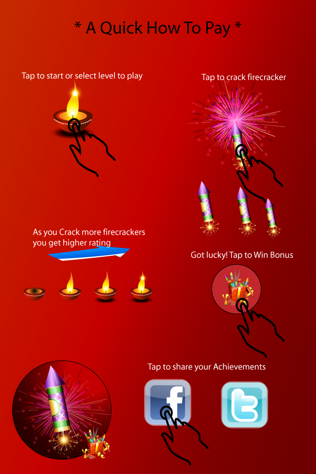 Screenshot Diwali Firecrackers Fun